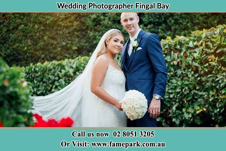 Photo of the Bride and the Groom Fingal Bay NSW 2315
