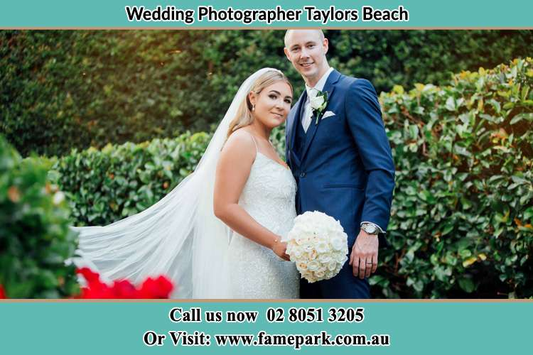 Photo of the Bride and the Groom Taylors Beach NSW 2316