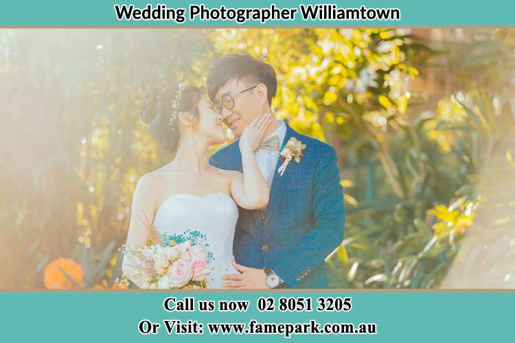 Photo of the Bride and the Groom Williamtown NSW 2318